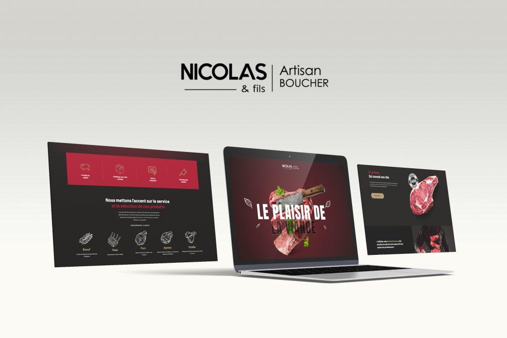 Site Boucherie Nicolas