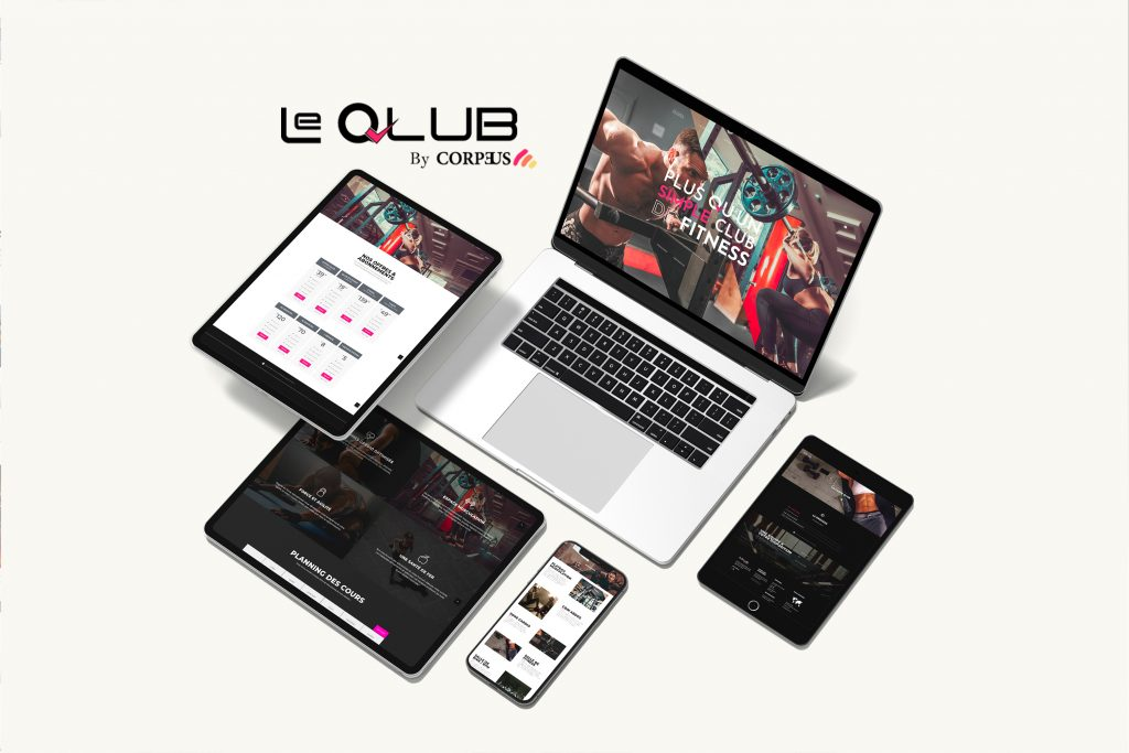 Site Le Qlub by Corpeus
